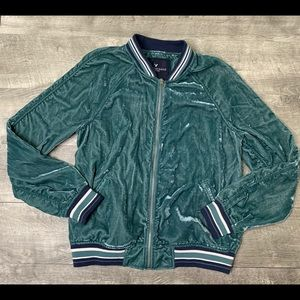 American Eagle • Viscose Bomber Jacket